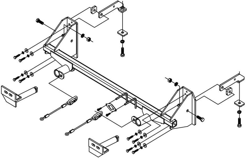 Roadmaster 522112-1 Tow Bar Mounting Bracket Kit