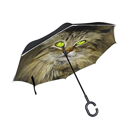 hengpai Animals Paraguas Reversible con diseño de Mickey Mouse para ...