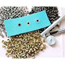 CHENGYIDA 300PCS 3 Color Eyelet & Setter Kit Leathercraft sca larp boot camp repair lace