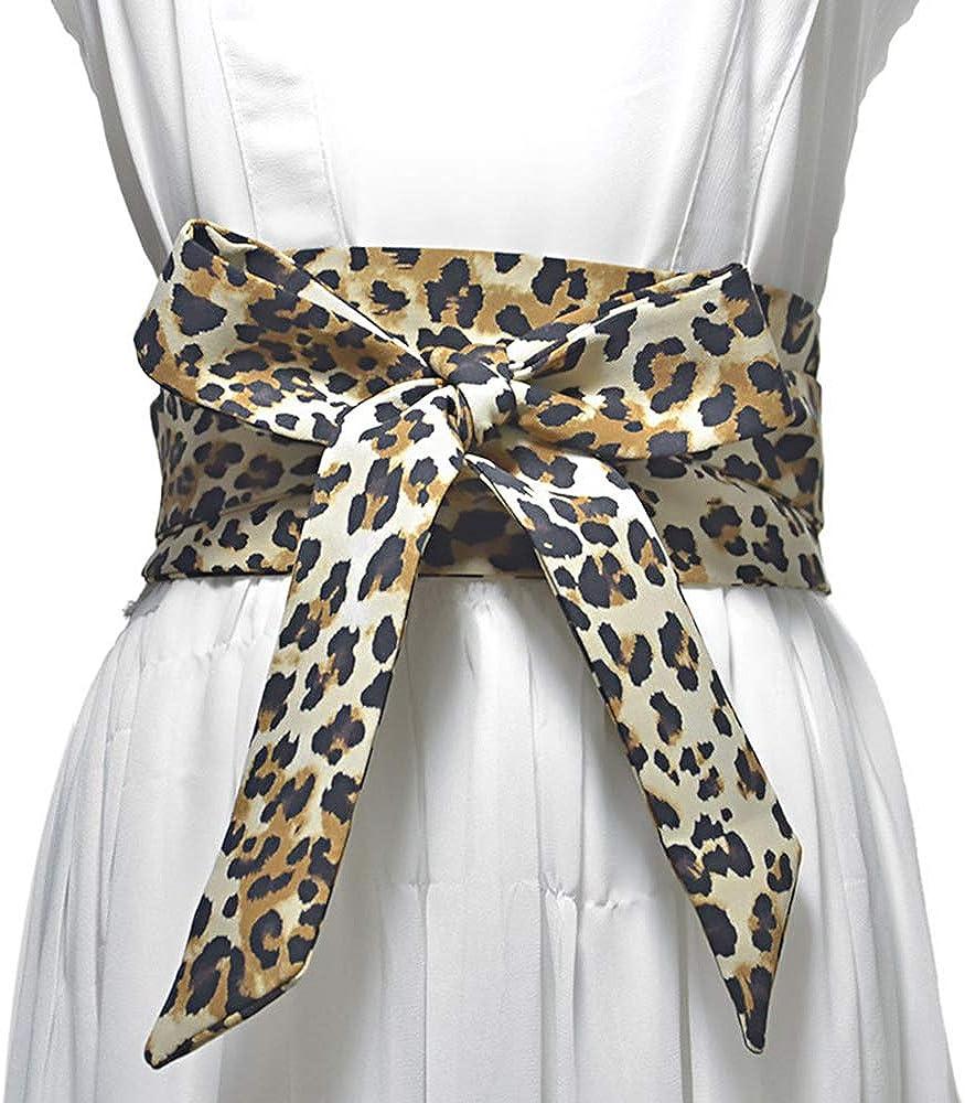29-34 Wide Corset Elastic Belt Black Lizard Snake Pattern Stretch Belt for women 80s