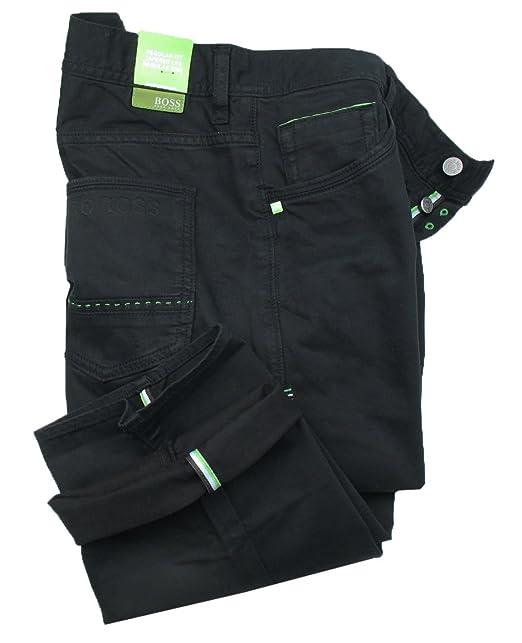 Hugo Boss - Pantalón - Normal - para Hombre Negro Negro ...
