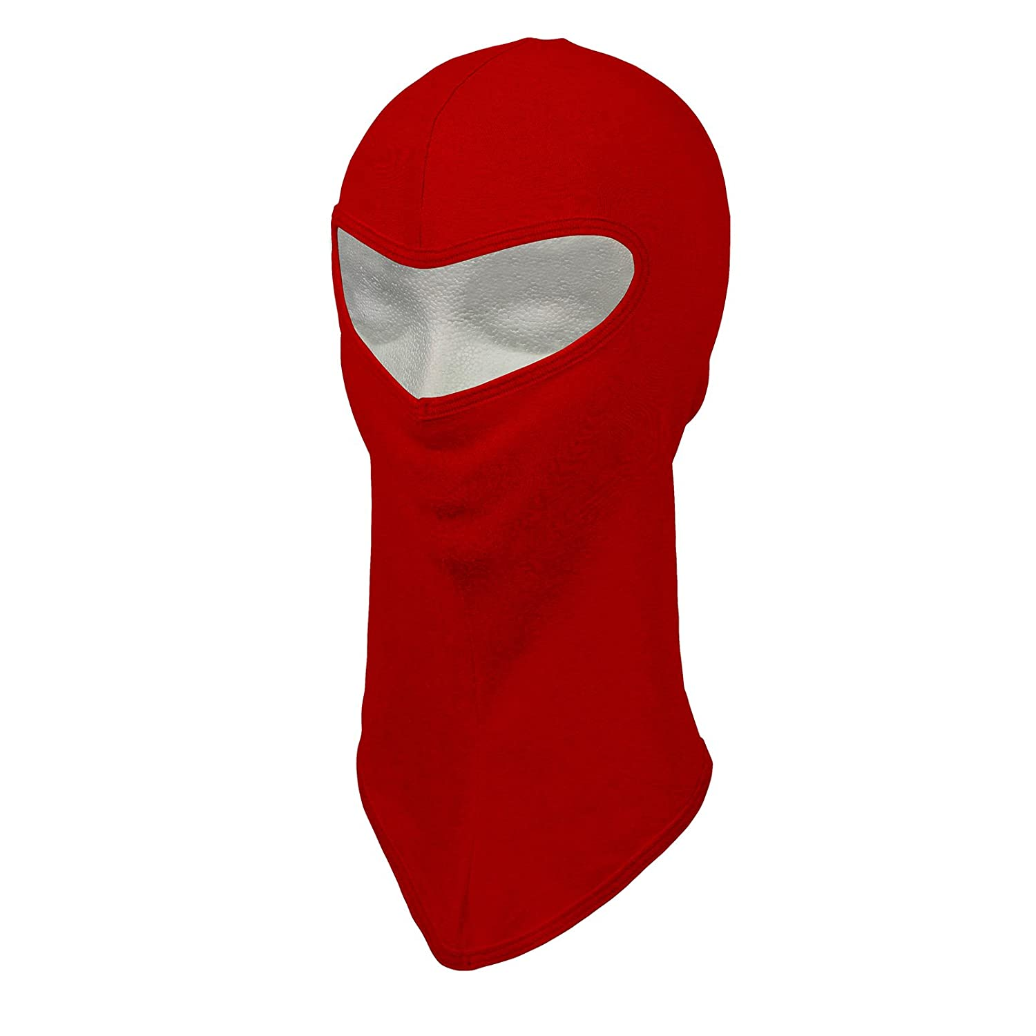 Extreme Max 5650.0214 Balaclava, Poly/Cotton, Lime Green