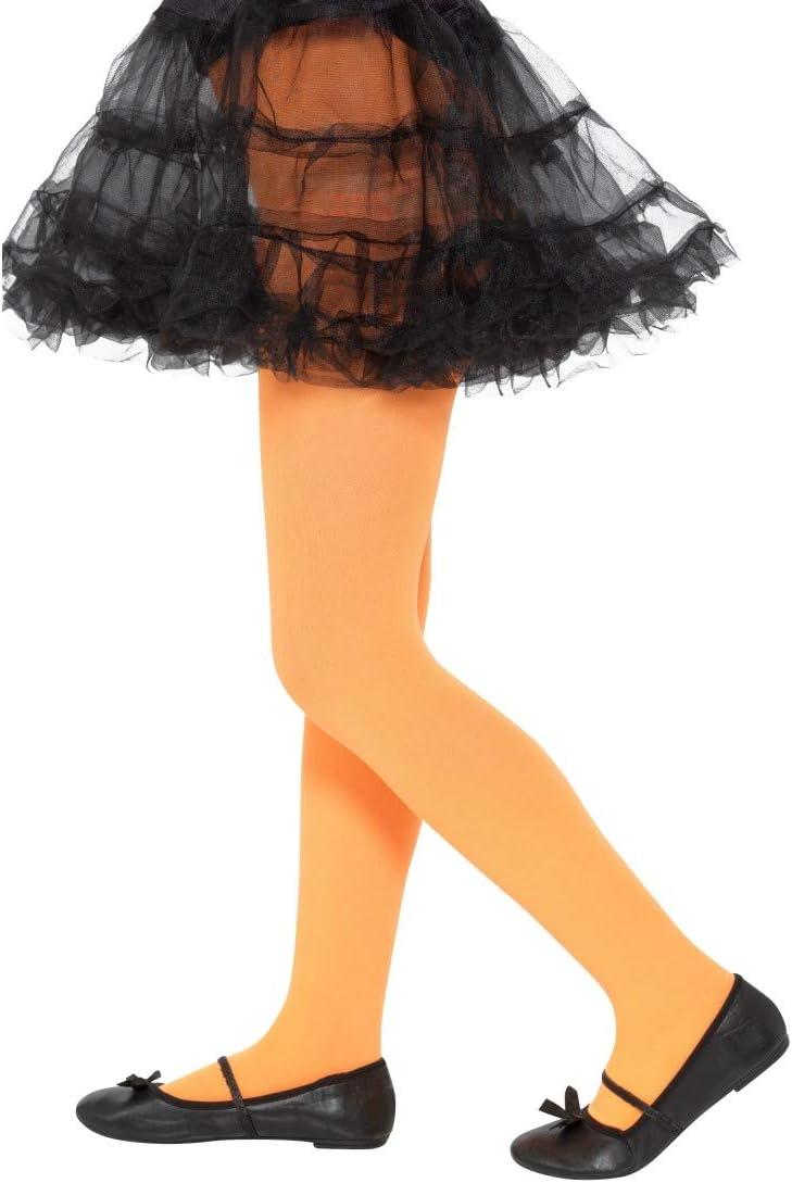 Arancio Perfettamente Adatte a Feste di Carnevale per Bambine /& Feste in Costume Accessorio pluriuso per Bambini Collant per Bambine NET TOYS Calze per Bambini