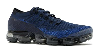 1a617b815f Image Unavailable. Image not available for. Colour: Air Vapormax Flyknit  College Navy Black Game Royal Mens Running Shoes