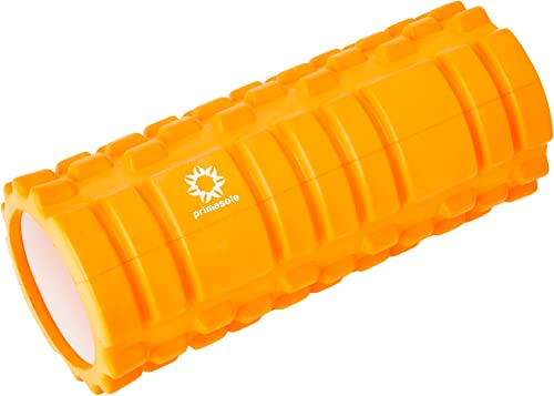 Primasole Amazon.com Limited Brand Foam Roller Coral red Color Fascial Release Deep Tissue Massager 440LB Load Limit PSS91NH034A