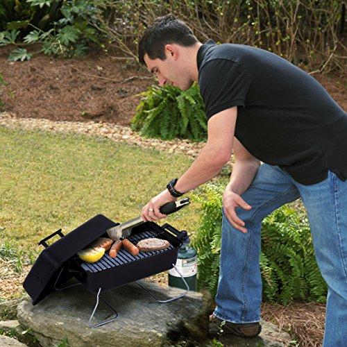 Char-Broil Deluxe Portable Liquid Propane Gas Grill