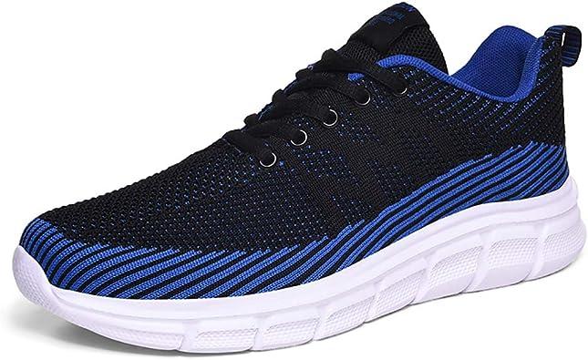 BaiMoJia Zapatillas Running Hombre Zapatos Malla Ligero ...