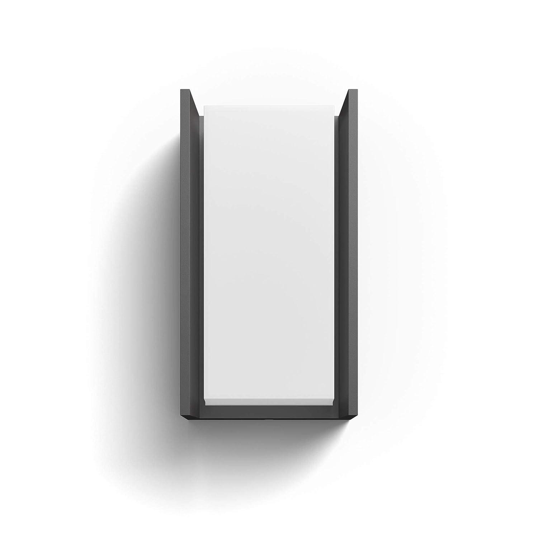 Apple HomeKit y Google Assistant Aplique LED color negro antracita Iluminaci/ón inteligente compatible con  Alexa Philips Hue Turaco