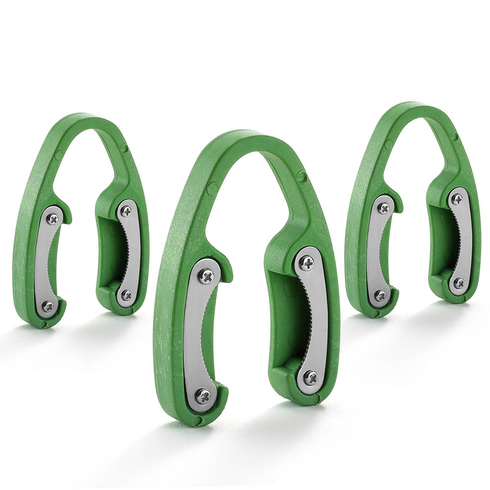 3 Pack Green Premium Dual Blade Wine Foil Cutter – Wine Bottle Opener Accessory – Gift for Wine Lovers by YWQ