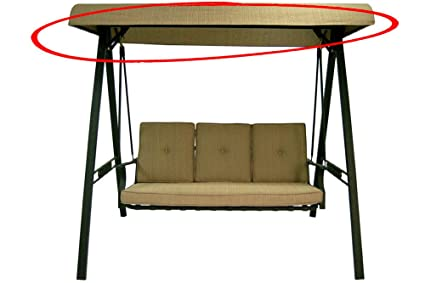 Exceptionnel Replacement Swing Canopy For North Haven 3 Person Cushion Garden Swing  SC J 100GS