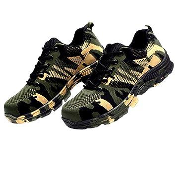 Bontime Chaussures De Sécurité De Travail De Camouflage Toe En Acier