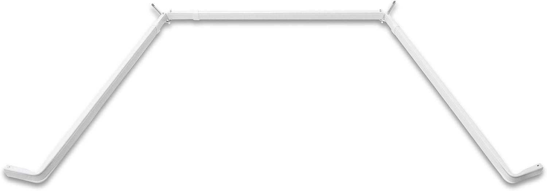 Rod Desyne Lockseam Single Bay Window Curtain Rod