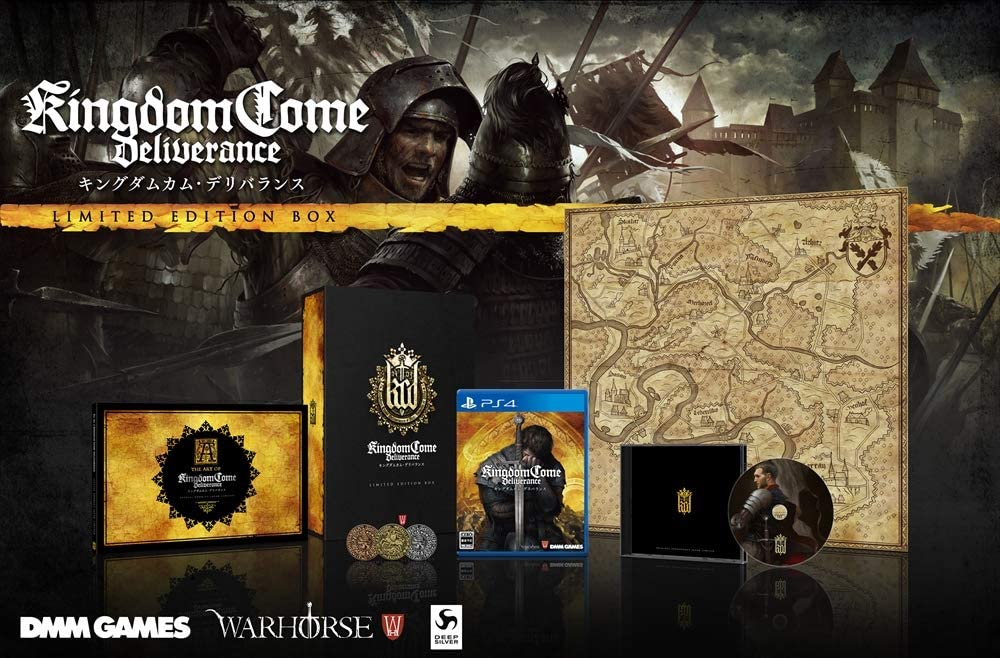DMM GAMES Kingdom Come Deli Balance Limited Edition [Limited Edition Included Items] Original Art Book Original Soundtrack Special Silver Coins, a Special Map Included - PS4 [video game]: Amazon.es: Videojuegos