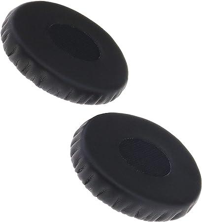 Remplacement Noir Mousse Coussinets dOreille Pour Casque /Écouteurs 60mm