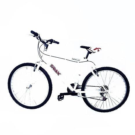 Bici Bicicletta Uomo Bianca Ruote 26 Cambio Shimano 18 Velocita