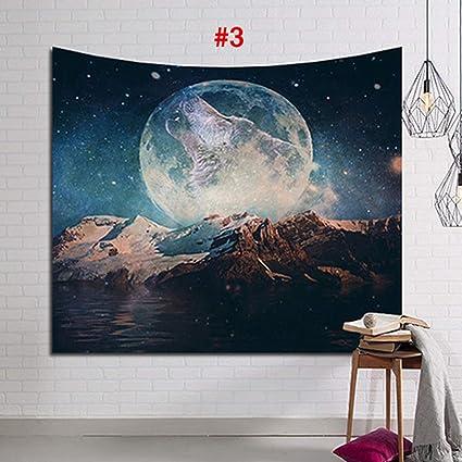 Desirepath - Tapiz de pared con diseño de galaxia, estilo ...