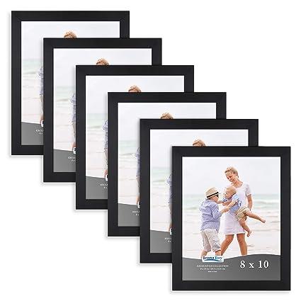Amazon.com - Icona Bay Picture Frames 8x10 (6 Pack, Black) Photo ...