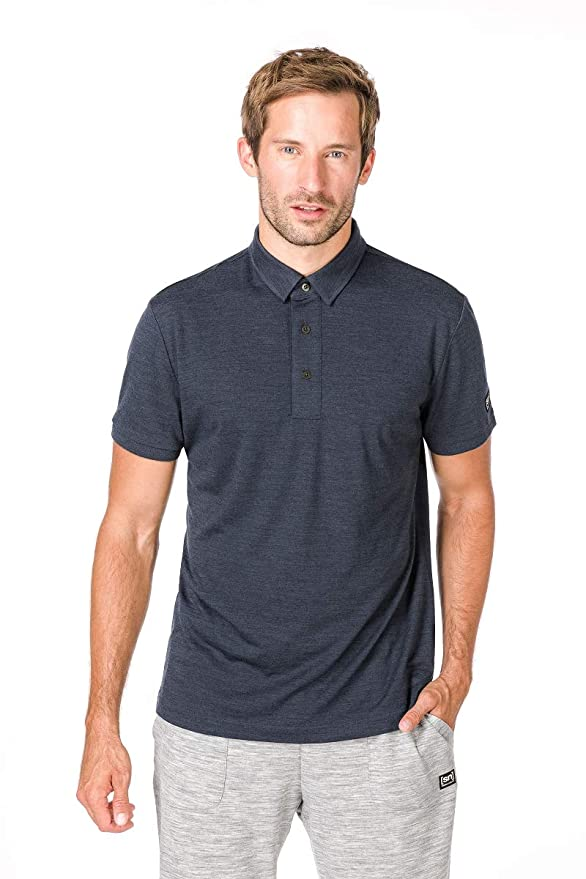 super natural M Essential Polo Merino Polo: Amazon.es: Deportes y ...