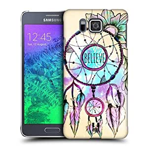 DIY Case Designs Dreamcatcher Trend Mix Protective Snap-on Hard Back Case Cover for Samsung Galaxy Alpha G850 by ruishername