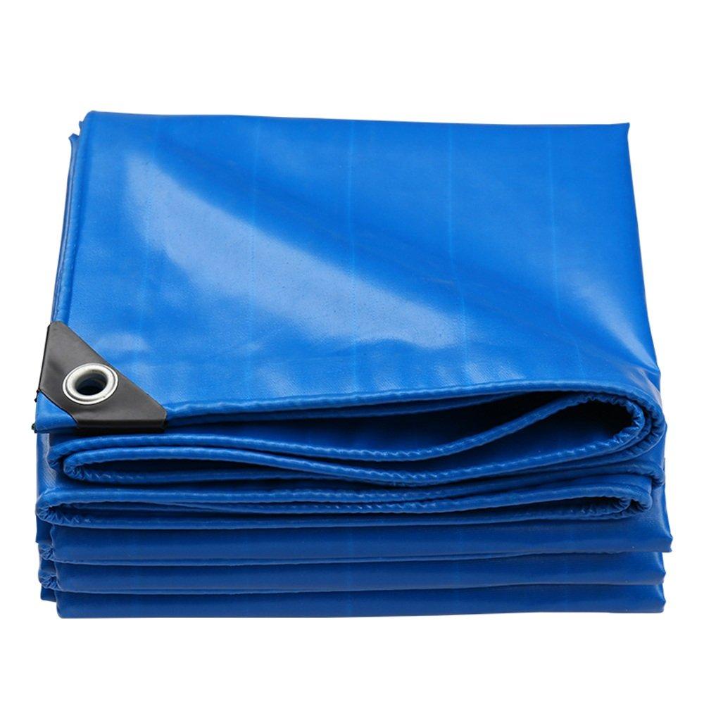 テントの防水シート ターポリンの厚い防水日焼け止め耐摩耗多機能ブラックアウト布 それは広く使用されています (サイズ さいず : 5 * 7m) B07F9RTM1X 5*7m  5*7m