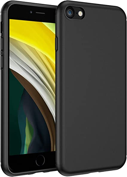 Amazon Com Easyacc Case For Iphone Se 2020 Iphone 7 Iphone 8 Ultra Thin Matte Tpu Phone Cases Finish Profile Soft Back Protective Cover Compatible With Iphone 7 Iphone 8 Iphone Se 2020 Black