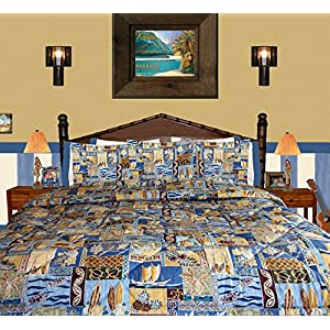 61W522dv%2B9L._SS300_ 200+ Coastal Bedding Sets and Beach Bedding Sets