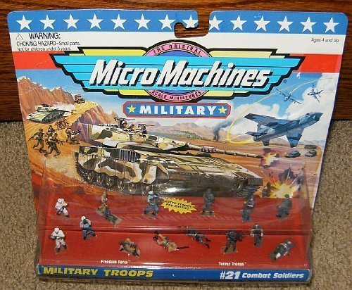 Micro Machines Combat Soldiers #21 Military Collection