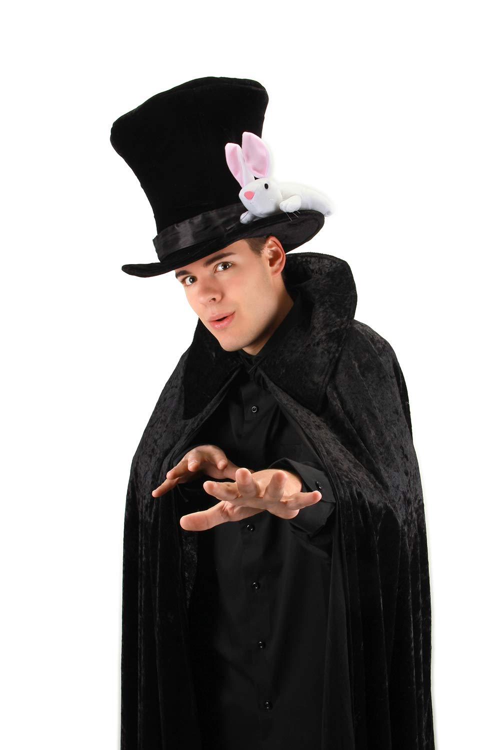 elope Magician Hat with Rabbit for Teens and Adults by elope