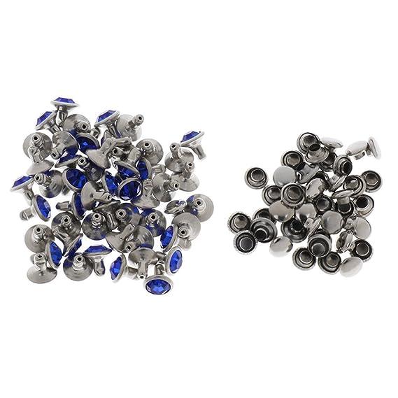 Gürtel Jacke Jeans Hundehalsband und 50 Sets Kristallnieten für Tasche