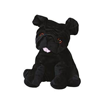WARMIES cuddly Thermal Bau Bau, Miao Miao Carlino Black