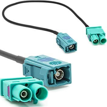 Adaptador de antena de radio FAKRA (Z) hembra a cable ...