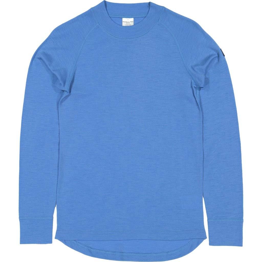 Polarn O. Pyret Merino Wool TOP (6-12YRS) - French Blue/6-8 Years by Polarn O. Pyret