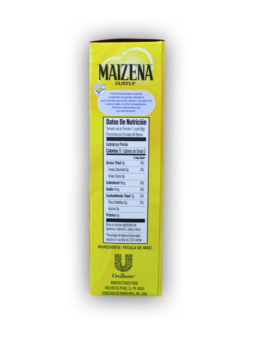 Amazon.com : Maizena Duryea - Corn Starch (Fecula de Maiz) 13.1 Oz (Pack of 5) : Grocery & Gourmet Food
