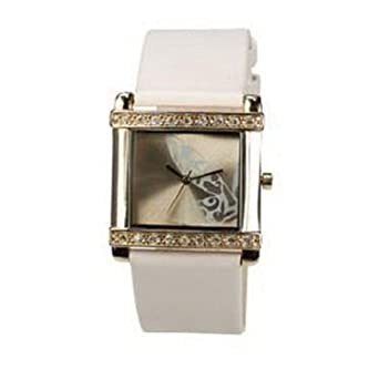 46e1865240cb Image Unavailable. Image not available for. Color  Playboy Pink Leather  Strap ...