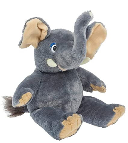 Amazon Com Cuddly Soft 16 Inch Stuffed Ellie The Elephant We