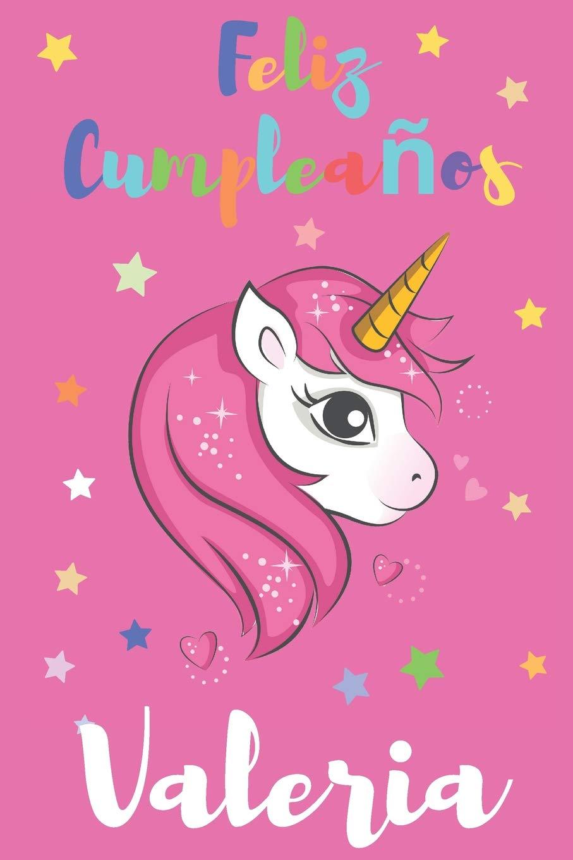 Amazon.com: Feliz Cumpleaños Valeria: Regalo para Niños o ...