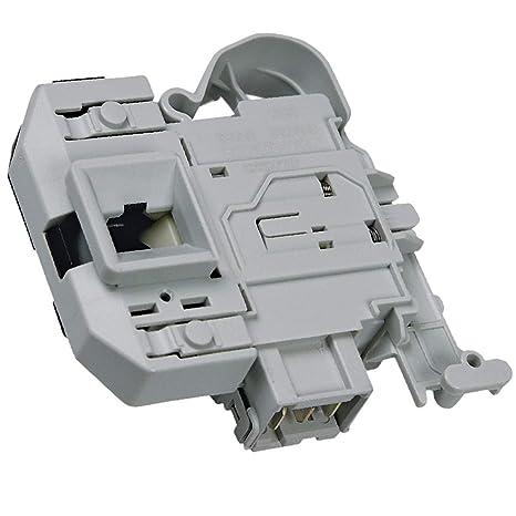 Cerradura de puerta eléctrica de repuesto para lavadora Bosch ...