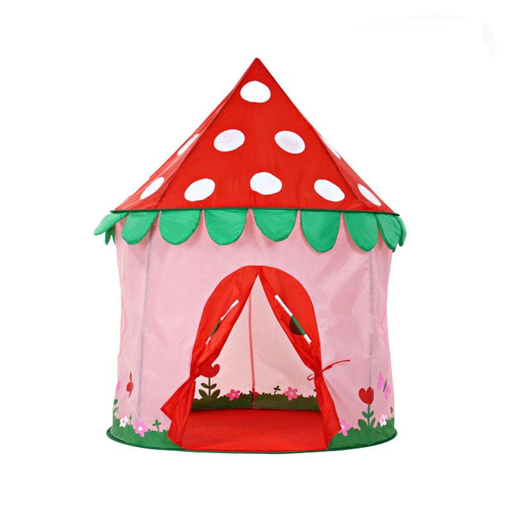 SESO UK- Prinz oder Prinzessin Sommerpalast Schloss Kinder Kinder spielen Zelt Haus Indoor oder Outdoor Garten Spielzeug Spielhaus Strand Sonne Zelt Jungen Mädchen (100x100x130cm)