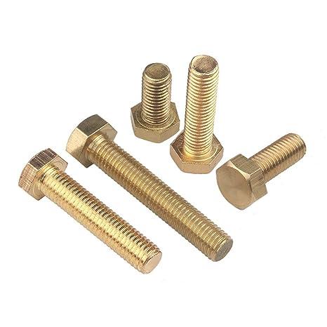 M10/ totalmente roscados hexagonal tornillos acero, 10/unidades / 10/mm x 30/mm /