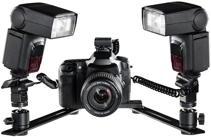 Walimex Makro Basic Blitzschienensystem Kamera