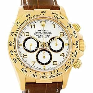 Rolex Daytona automatic-self-wind Mens Reloj 16518 (Certificado) de segunda mano: Rolex: Amazon.es: Relojes