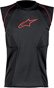 Alpinestars MX Cooling Vest (Black/Red, Large)