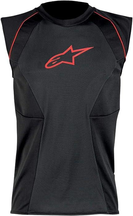 Alpinestars MX Cooling Vest (Black/Red, Large)
