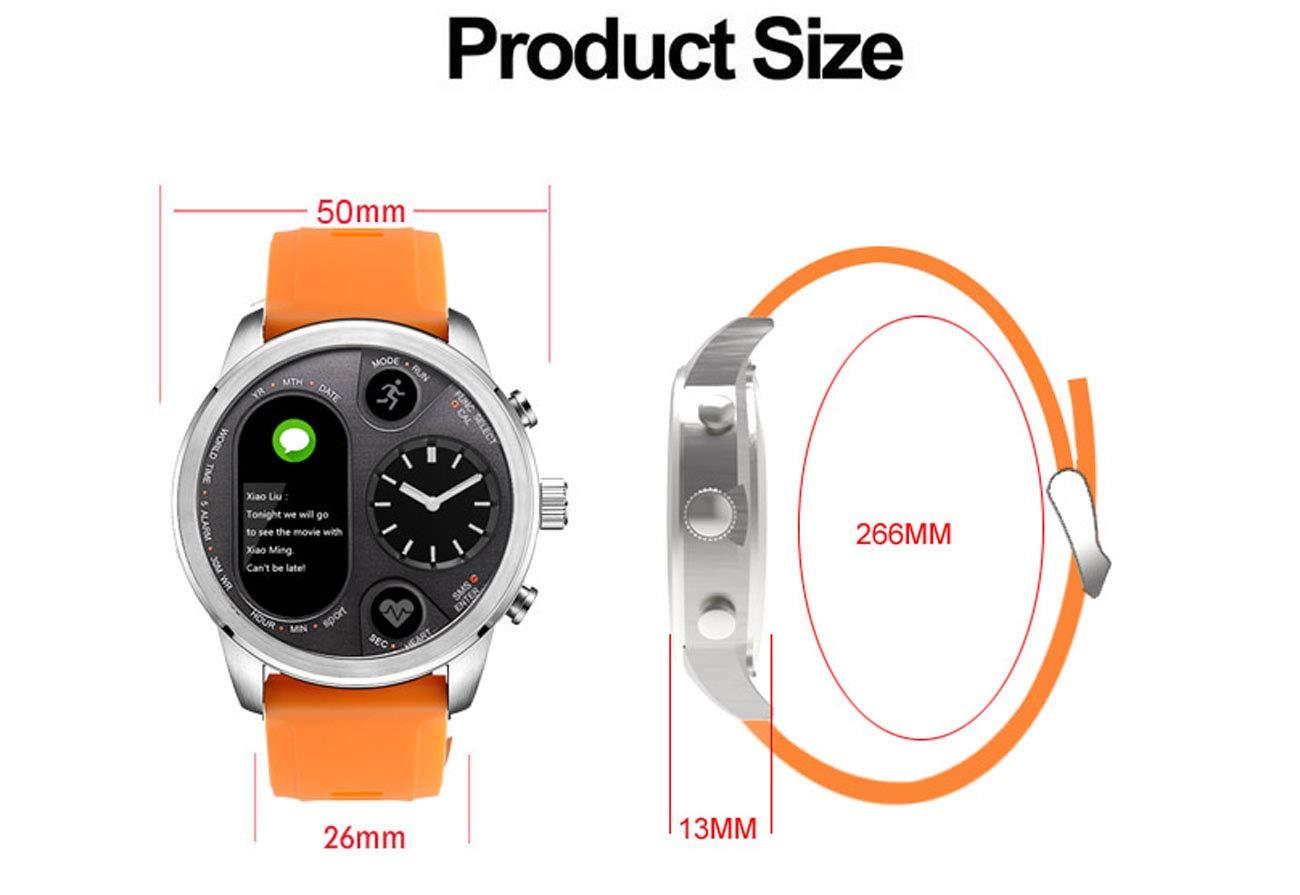 Amazon.com: Isa Fitness Tracker Smart Quartz Watch ...
