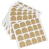 asentechuk® 10feuille Faux Ongles Nail Sticker Autocollant Double Face ruban adhésif