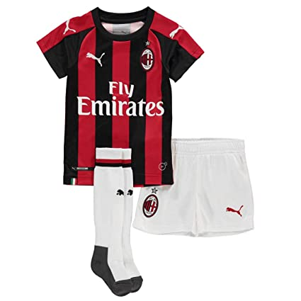 4d47b8d1d4a7 Amazon.com : PUMA 2018-2019 AC Milan Home Mini Kit : Sports & Outdoors
