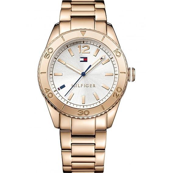 Tommy Hilfiger - Reloj de Pulsera analógico para Mujer Cuarzo ... 463ab16957e4