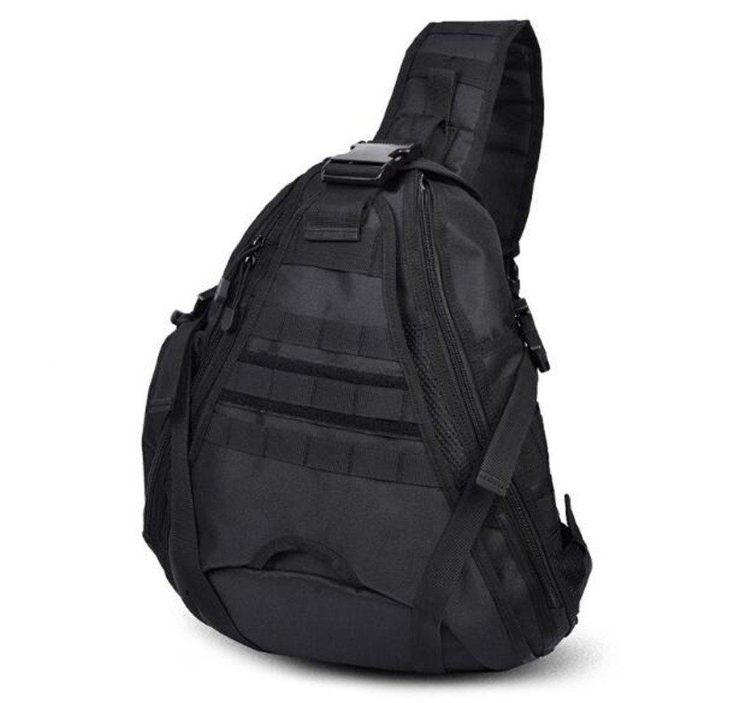 SHULING Outdoor Umhängetasche 14 Zoll Computer Tasche Reise Große Brust Tasche Reiten Wandern Messenger Bag Armee Fan Männer Tasche