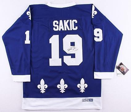the best attitude 7a38d b116d Joe Sakic Autographed Signed Nordiques Jersey - JSA ...