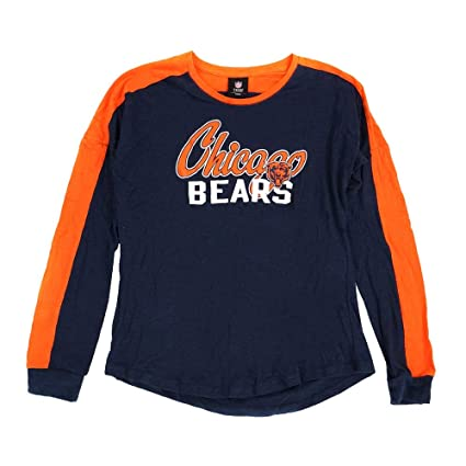 Image Unavailable. Image not available for. Color  Outerstuff Chicago Bears  NFL Girls  Navy Blue Slouchy Pullover Unity T-Shirt 82218070f